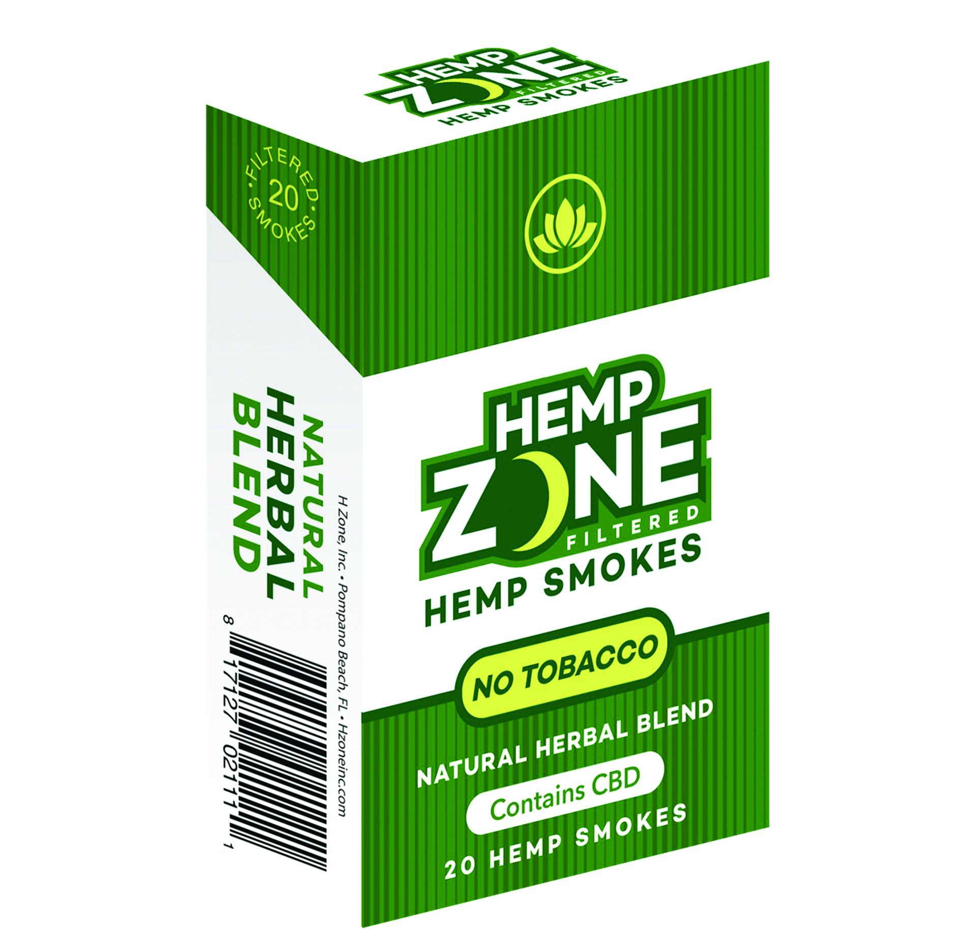 Edibles Magazine Reviews Hemp Zone Filtered Smokes