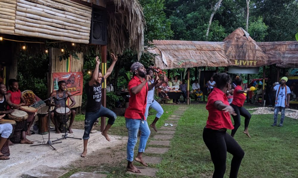 A Rastafari Indigenous Village  in Montego Bay, Jamaica