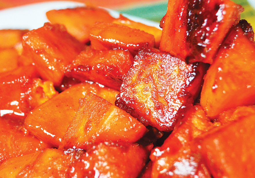 Cannabis Infused Candied Yams - Cooking with Cannabis Ultimate Holidays Recipe Guide