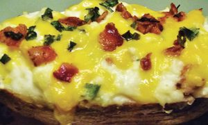 Cannabis Infused Twice Baked Potato - Cooking with Cannabis Ultimate Holidays Recipe Guide