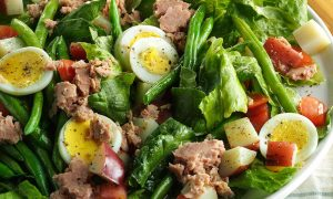 Super Infused Salad Nicoise - Cooking with Cannabis - Edibles Magazine - Cannabis Infused Recipes