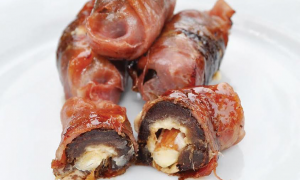 Chronic Bacon-Wrap Weed Stuffed Dates.