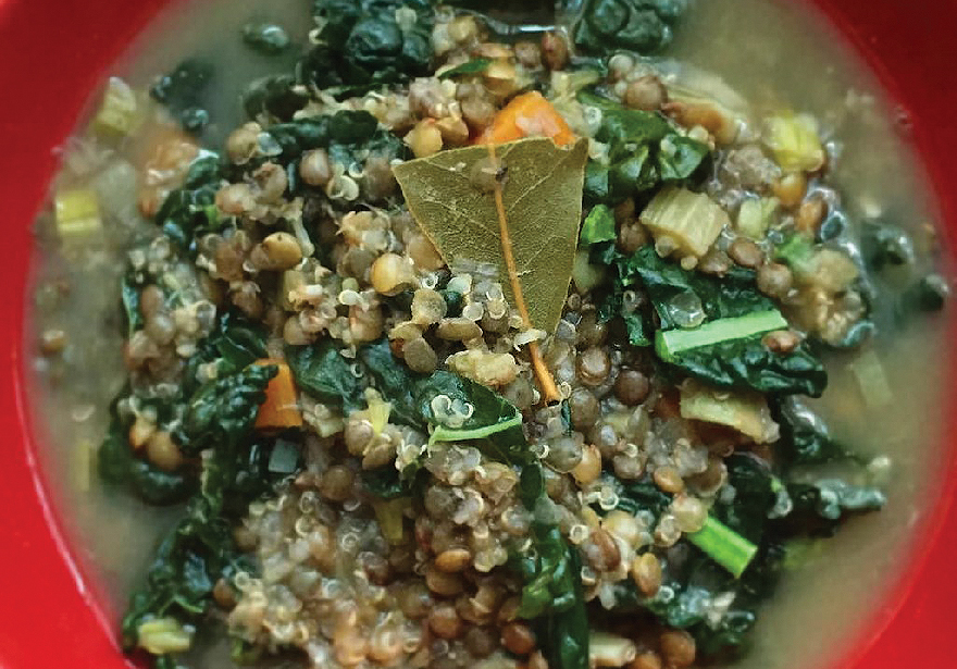 Innovative Industrial Properties and Quinoa Cannabis Kale Soup