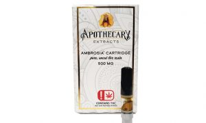 Apothacary Extracts Oklahoma Vape Cartridge Review - Edibles Magazine