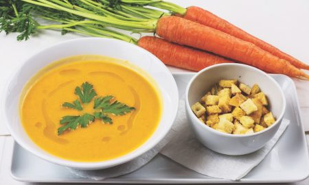 Pot Socks & Stocked Pots: Jushi and Carrot Juice Soup