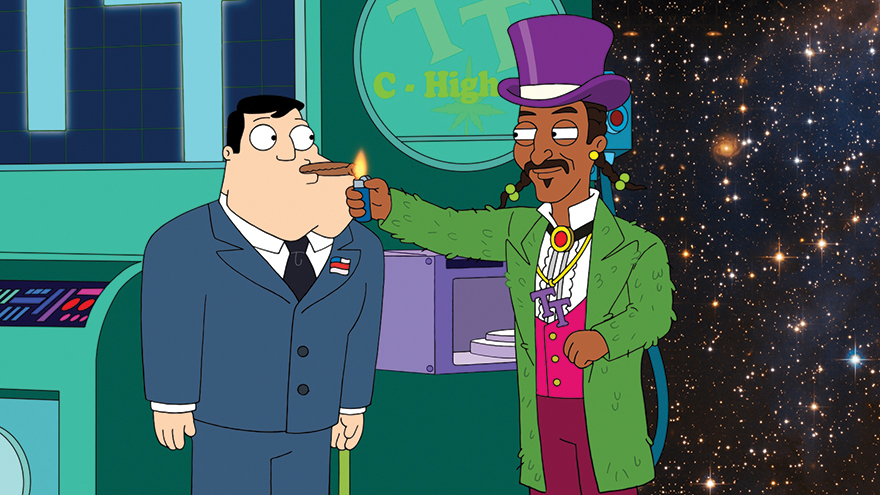 Entertainment Review: American Dad's Jeff and The Dank Ass Weed Factory