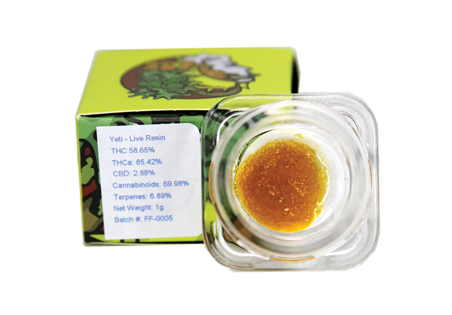 Rare Extracts Live Resin Yeti - Edibles Magazine Editors Pick Featured Review Oklahoma 2