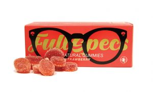 Red Bud Elixirs - Full Specs Strawberry Gummies - Edibles Magazine Editors Pick Featured Review Oklahoma