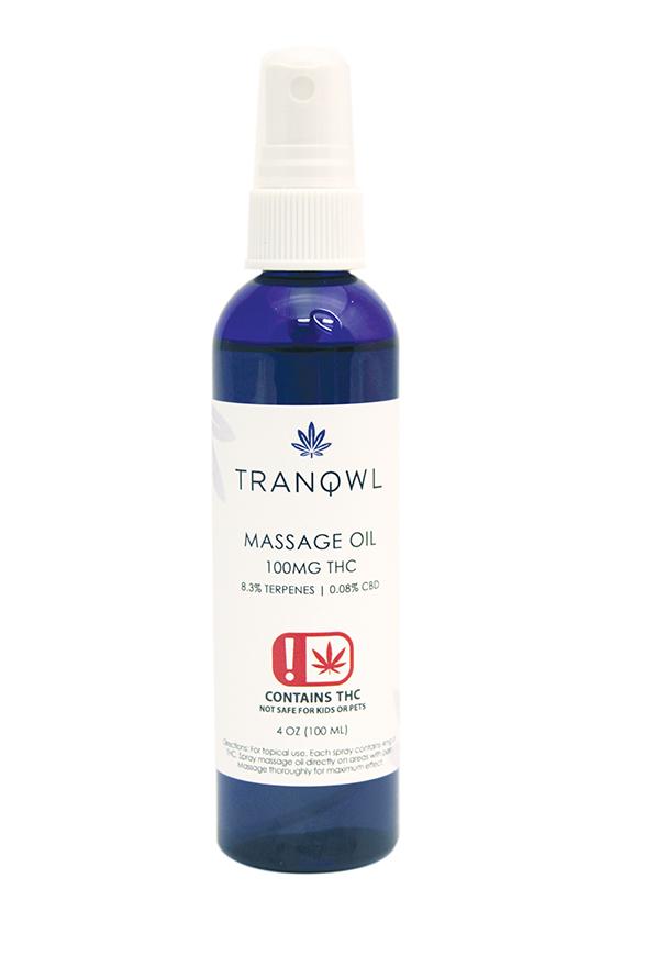Edibles Magazine Reviews Tranqwl Massage Oil
