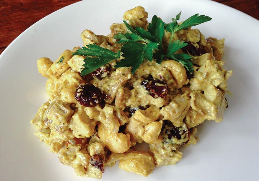 Curried chicken salad2