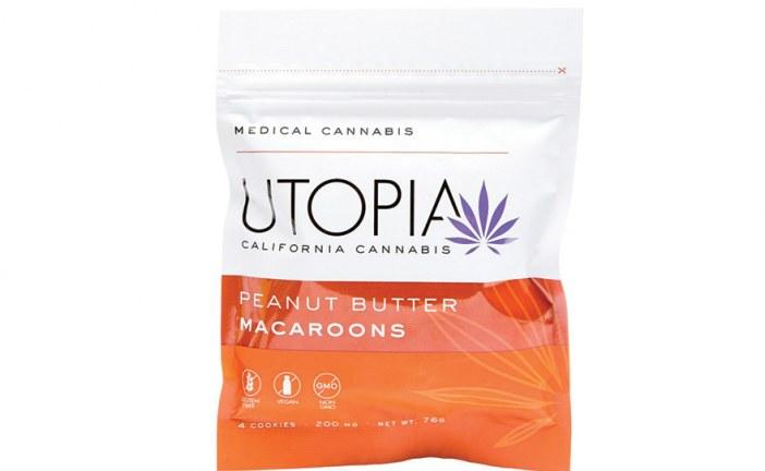 Utopia Peanut Butter Macaroons