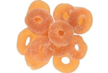 Infused Edibles Organic CBD Peach Rings