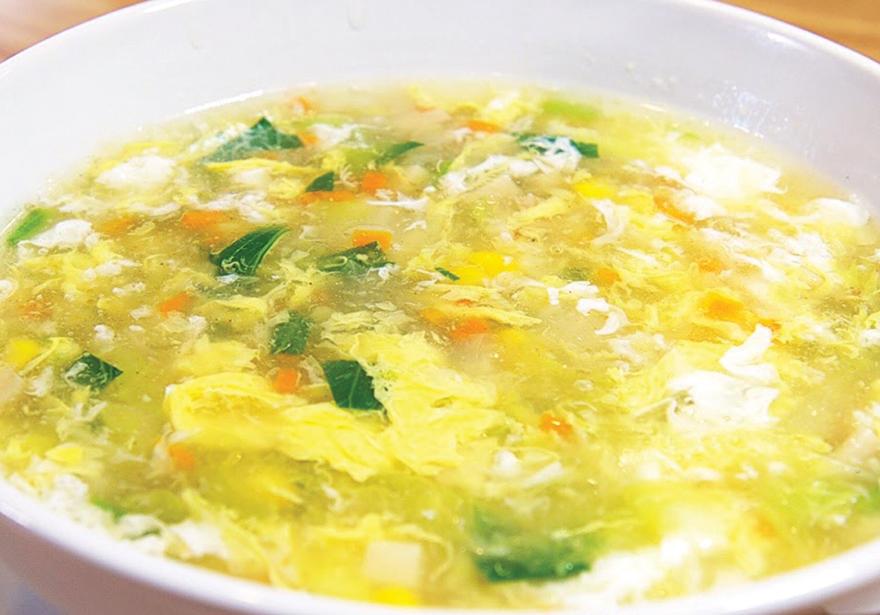 Dank Egg Drop Soup