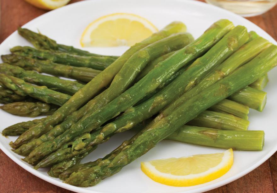 Lemon Roasted Toasted Asparagus
