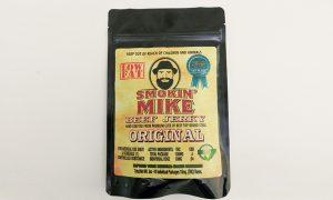 Smokin' Mike, beef jerky, edibles, cannabis,
