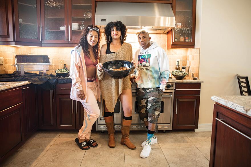 Chef Nuha Edibles Magazine Feature Tay Smalz Video Shoot