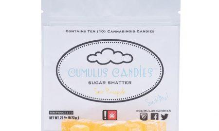 Cumulus Candies - Sour Pineapple Sugar Shatter