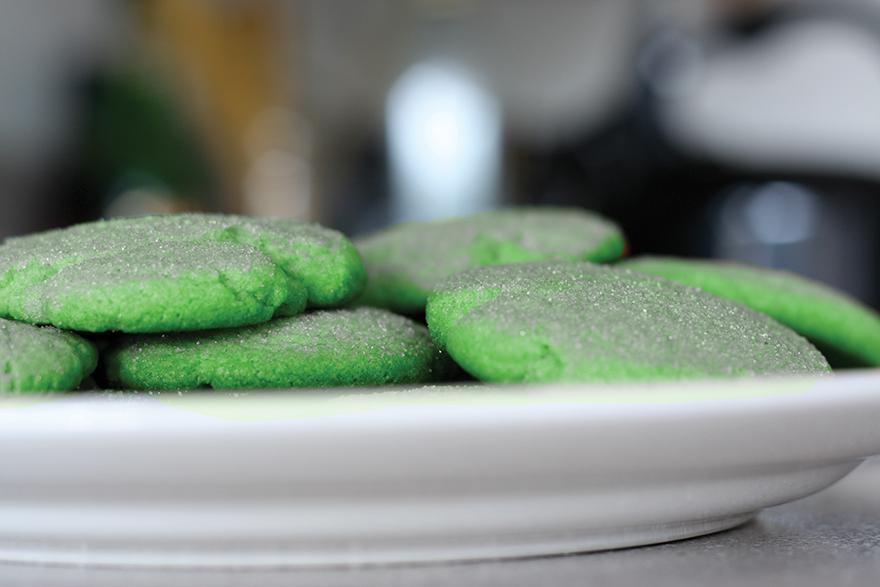 Gluten-Free Pistachio Chronic Cookies