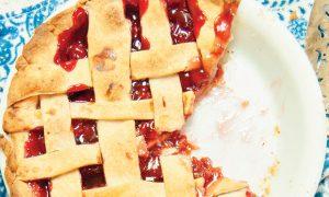 Cannabis Infused Rhubarb Pie