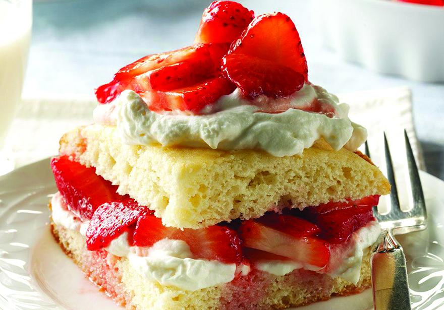 Edible's Magazine Recipe Strawberry Shortcake