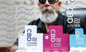 Edibles Magazine CBD Living Cover Story