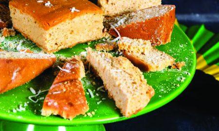 Canna Coconut Toto Cake