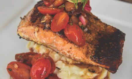 CBD Infused Blackened Salmon
